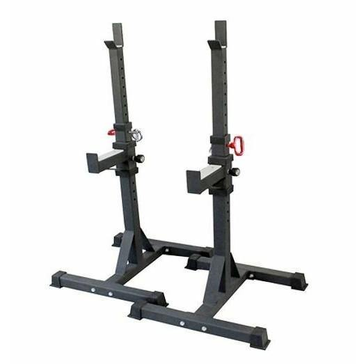 Morgan Adjustable Commercial 2-Pcs Squat & Bench Stand