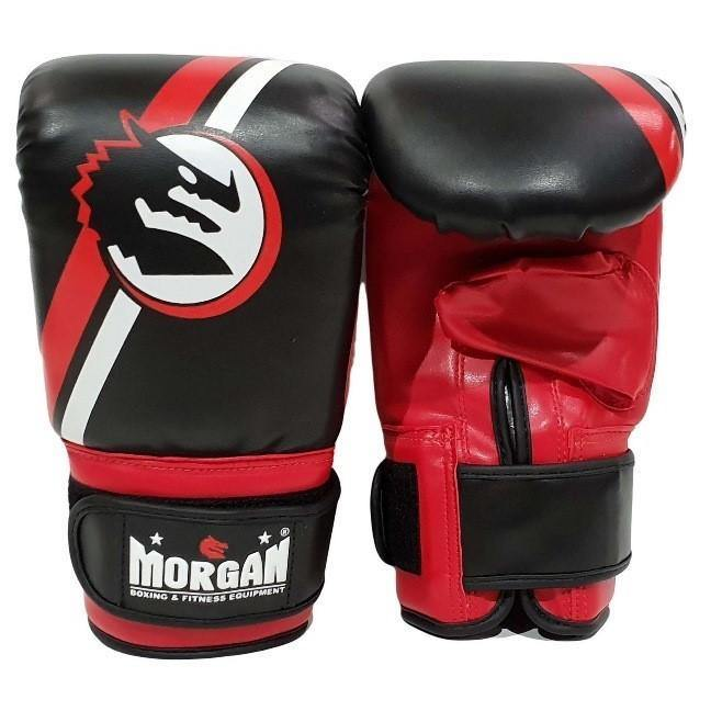 Morgan Classic Bag Mitts-Boxing Gloves & Mitts-Morgan-Extra Small-Black/White-Cardio Online