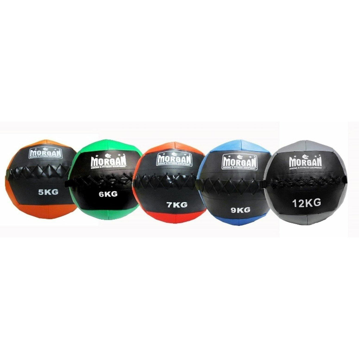 Morgan Cross Functional Fitness Wall Ball Set Of 5 (5 + 6 + 7 + 9 + 12 KG)