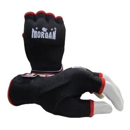 Morgan Elasticated Easy Hand Wraps-Accessories-Morgan-X-Small-Black-Cardio Online