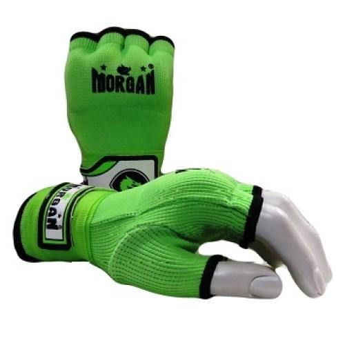 Morgan Elasticated Easy Hand Wraps-Accessories-Morgan-X-Small-Lime-Cardio Online