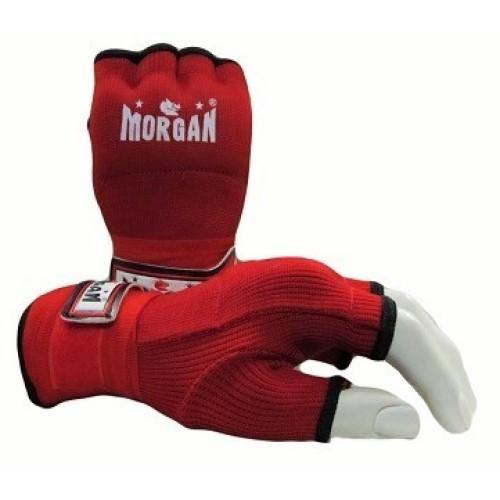 Morgan Elasticated Easy Hand Wraps-Accessories-Morgan-Small-Red-Cardio Online