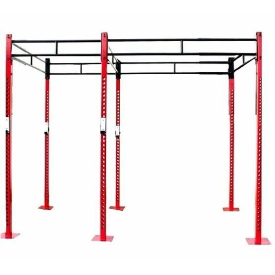 Morgan Matrix Free Standing 14 X Station Punch Bag Rig