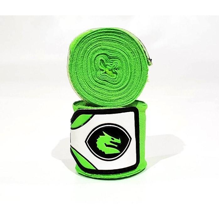 Morgan Mexico Boxing Elastic Hand Wraps 4m (Pair)-Accessories-Morgan-Lime-Cardio Online