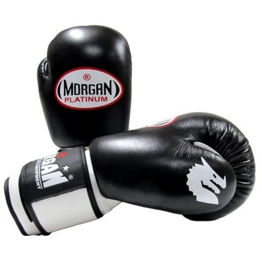 Morgan V2 Platinum Leather Sparring Gloves