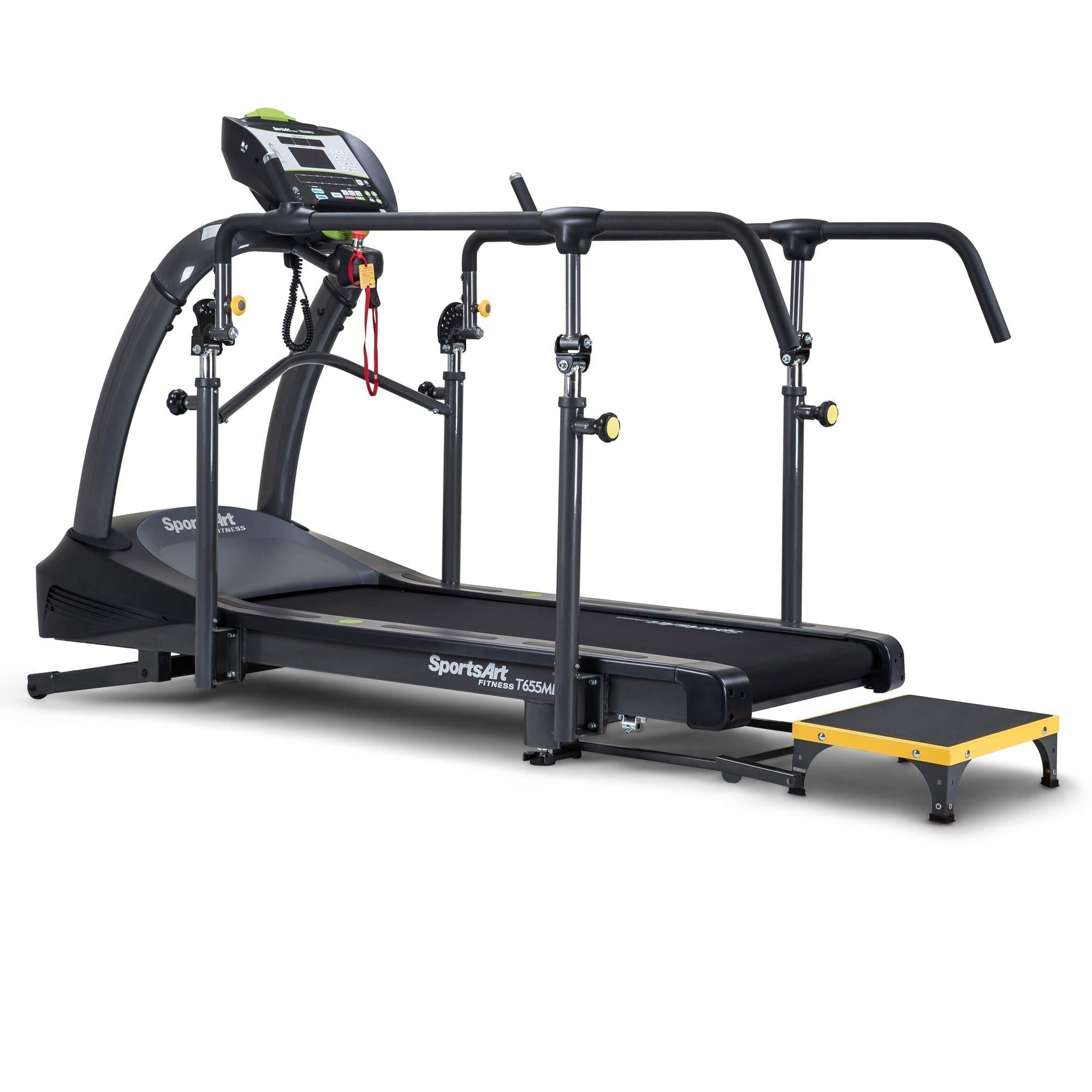 SportsArt T655MD Medical Treadmill with LCD Screen and Adjustable Medical Rails-Treadmill-SportsArt-Cardio Online