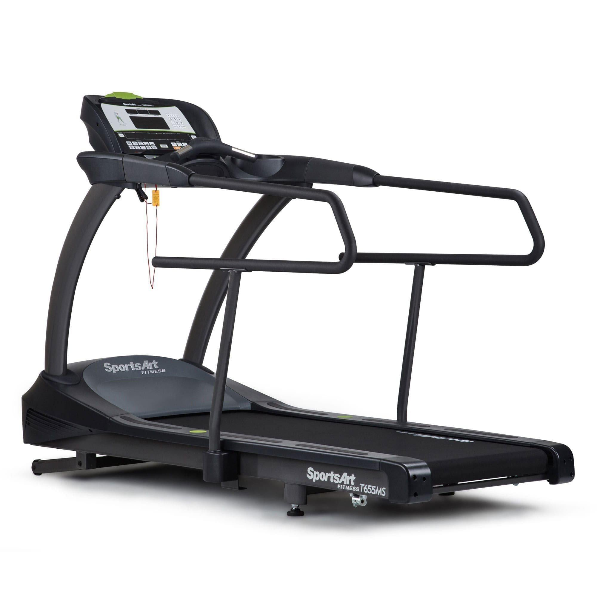SportsArt T655MS Medical Treadmill with LCD Screen and Medical Rails-Treadmill-SportsArt-Cardio Online
