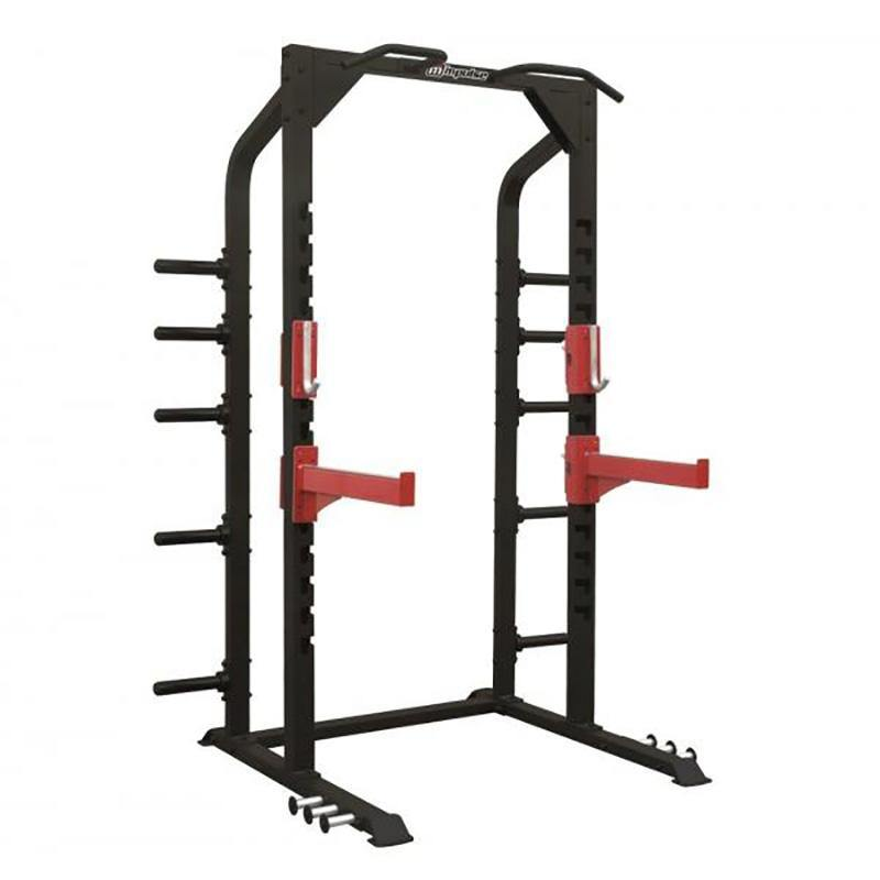Healthstream Sterling Strength Half Rack with J Hooks