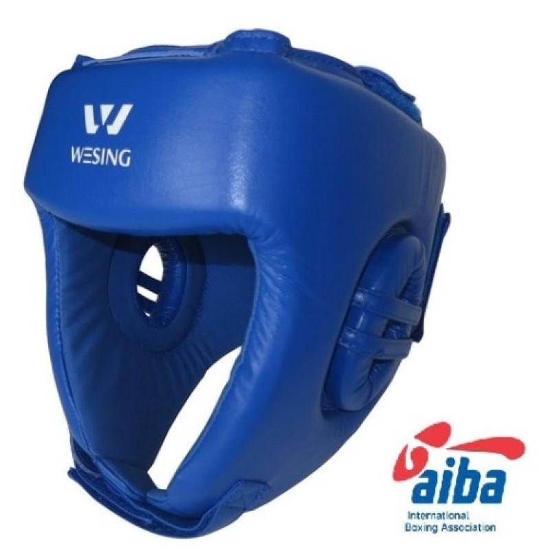 Wesing AIBA Approved Leather Head Guard