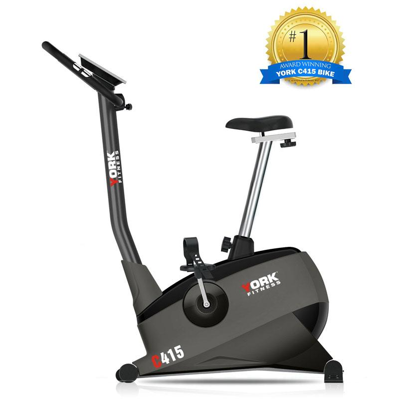 York C415 Upright Exercise Bike-Exercise Bike-York-Cardio Online