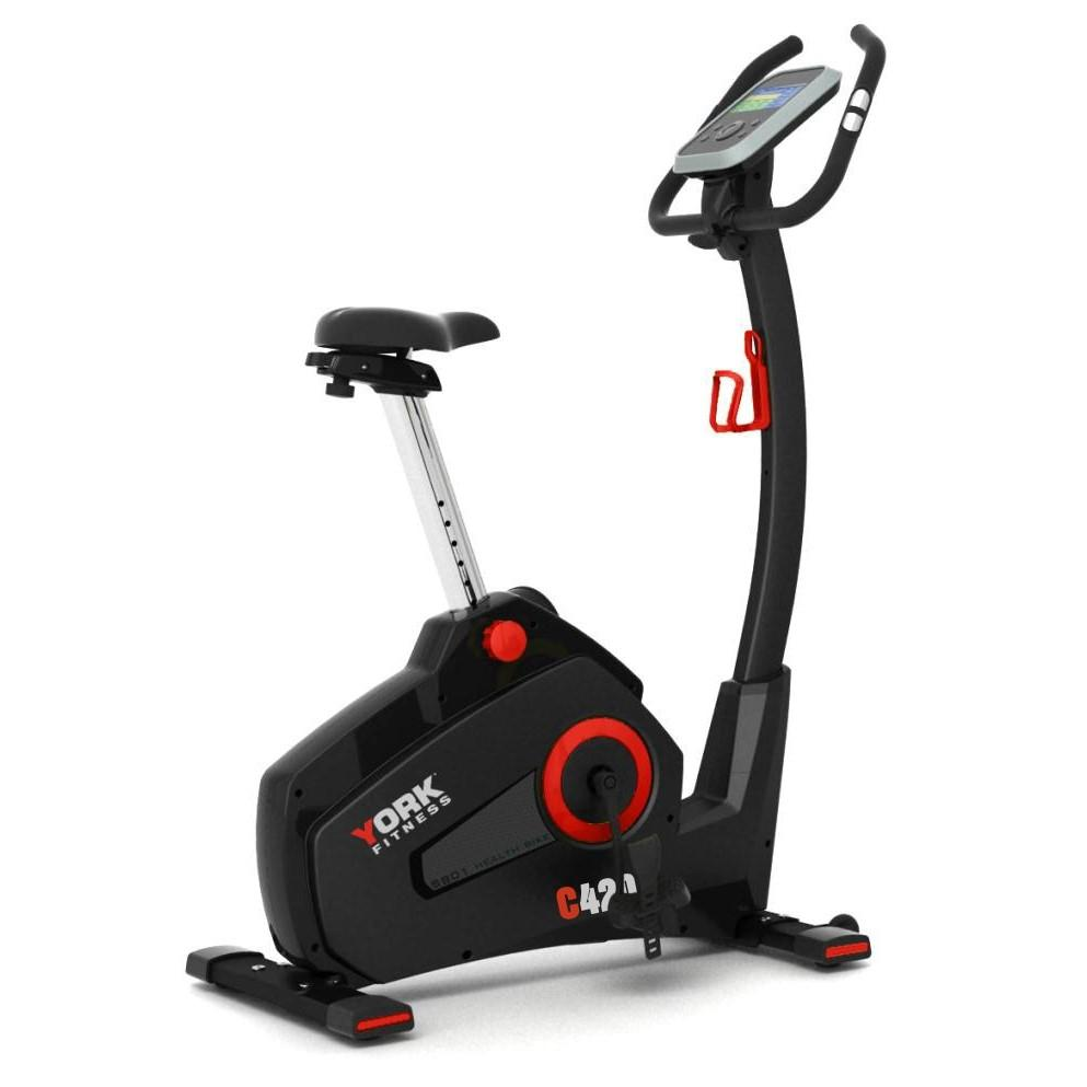 York C420 Upright Exercise Bike
