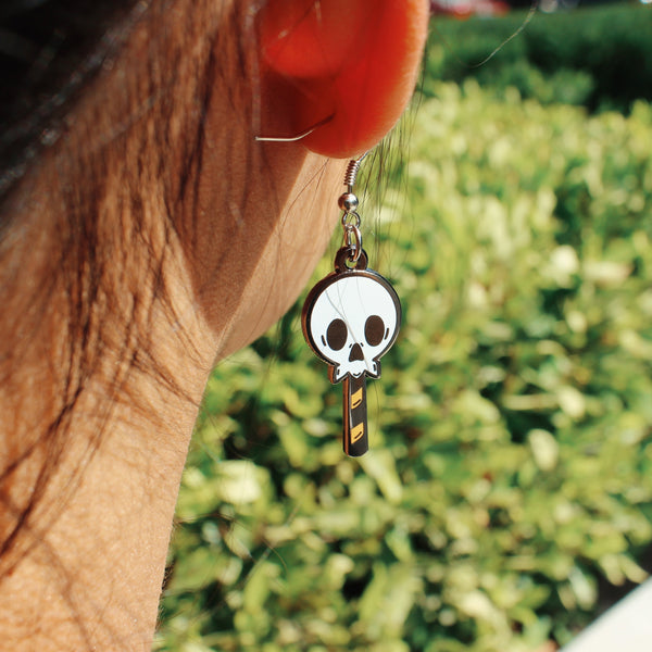 Skullypop Earrings