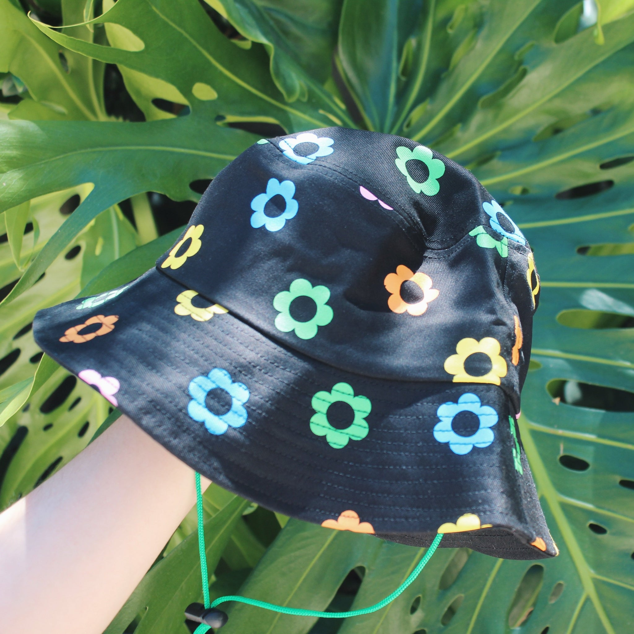 Flower Clown Bucket Hat