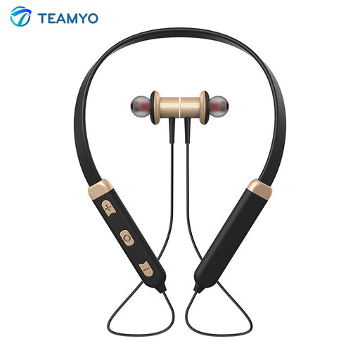 Wireless  Bluetooth Magnetic Neckband Headset
