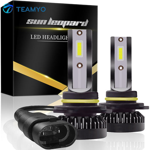 Mini LED Car Headlights With COB LED Chips