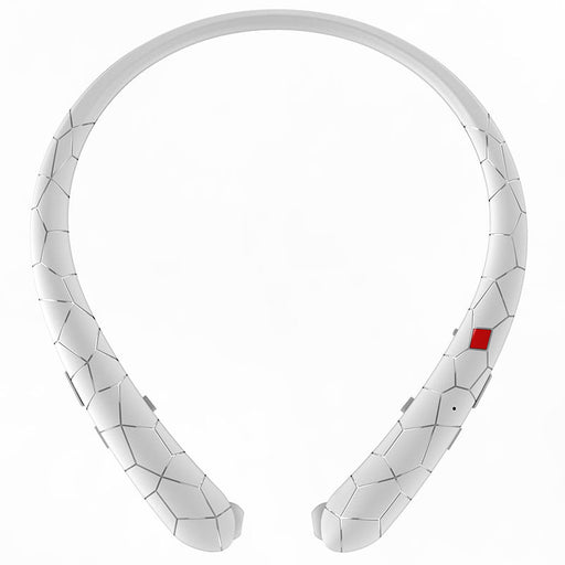 Retractable Neckband Headset with Mic