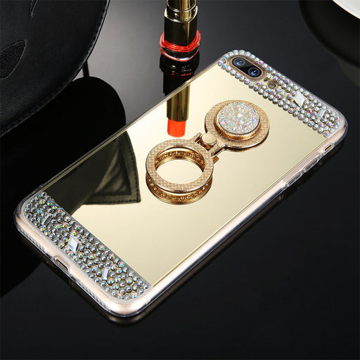 Bling Diamond Glitter Mirror Makeup iPhone Case