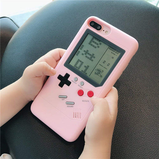 Tetris Game Boy Player iPhone Case