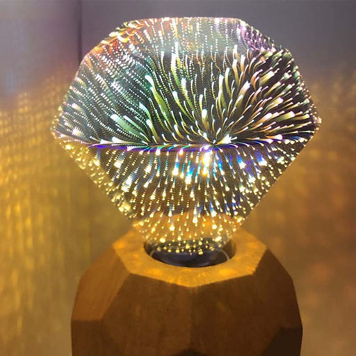 3D  LED Fireworks Light Bulb 220V