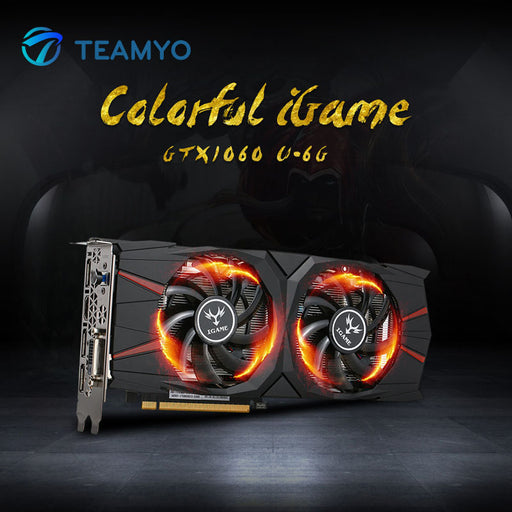 Colorful iGame GTX1060 Vulcan U 6G