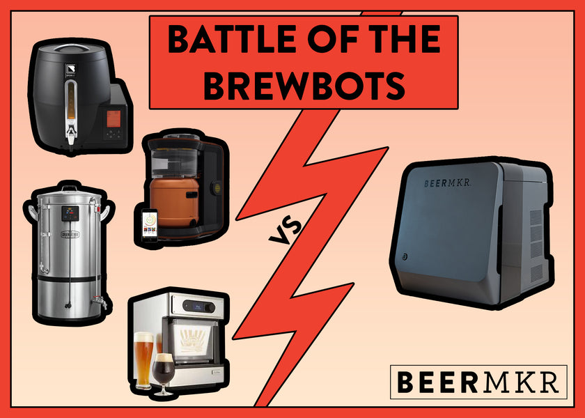 Robobrewer Battle: BEERMKR vs Pico Brew vs Electric Mash and Boil
