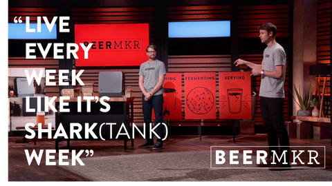 beer machine shark tank beer brewing beermkr
