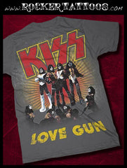 "KISS ""Love Gun"" T-Shirt (Medium)"