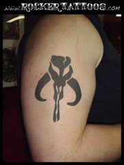 Mandolorian Temporary Tattoo (Star Wars)