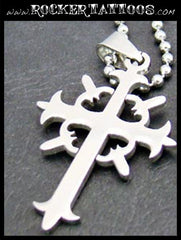 Cross Necklace (Stainless Steel)