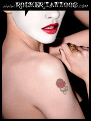 (KISS) Paul Stanley ROSE Temporary Tattoo
