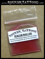 Temporary Tattoo DULLER & SEALER