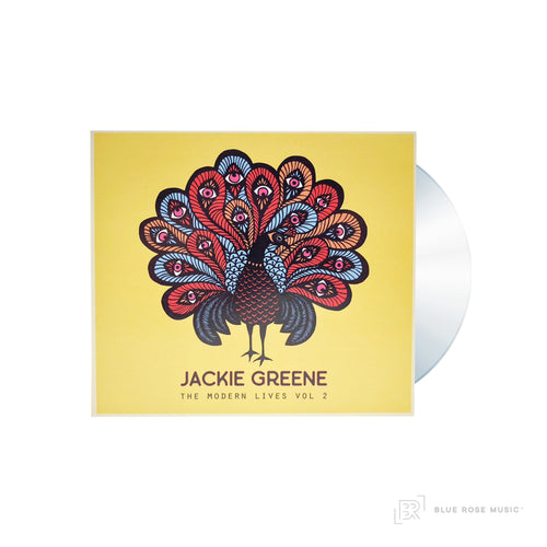 Jackie Greene The Modern Lives Vol. 2 CD album EP blue rose music front cover