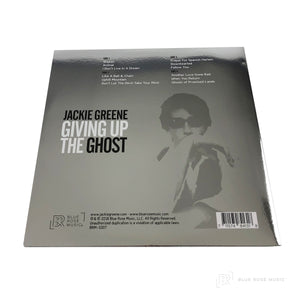 Jackie Greene giving up the ghost vinyl back cover 2008 album grateful dead phil lesh dave hidalgo los lobos