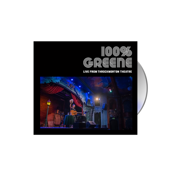 Jackie Greene 100% Greene Live From Throckmorton Theatre CD