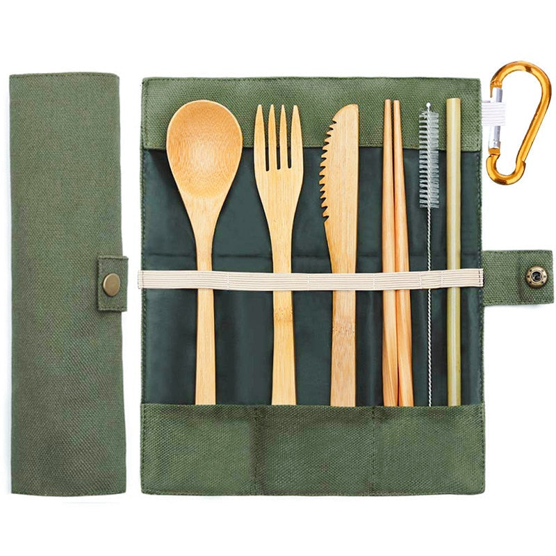 Sustainable Bamboo Cutlery Set
