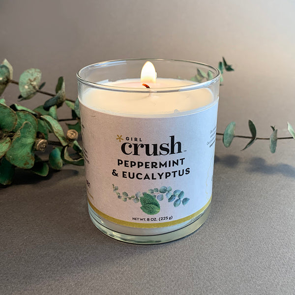 Peppermint & Eucalyptus 8 oz Candle