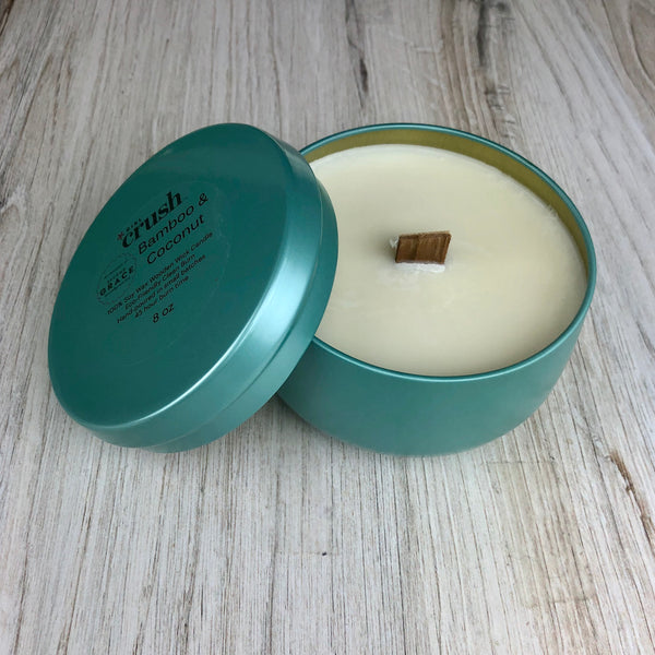 Bamboo & Coconut 8 oz Candle