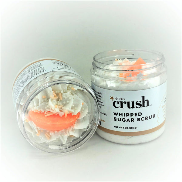 Peach Bubbly Whipped Sugar Scrub