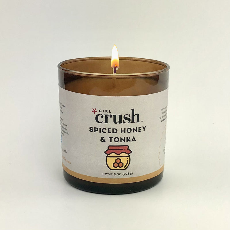 Spiced Honey & Tonka 8 oz Candle