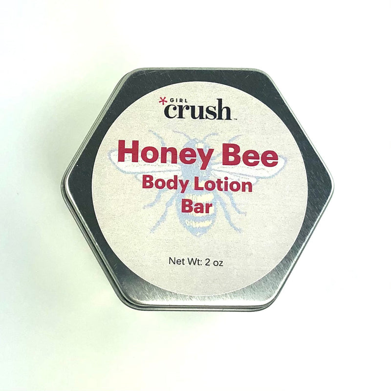 Honey Bee Solid Body Lotion Bar