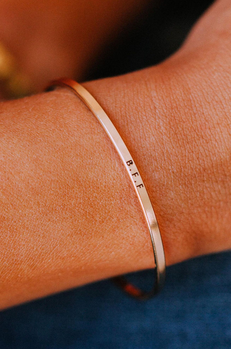 Accessories B.F.F. Bangle Bracelet Gold