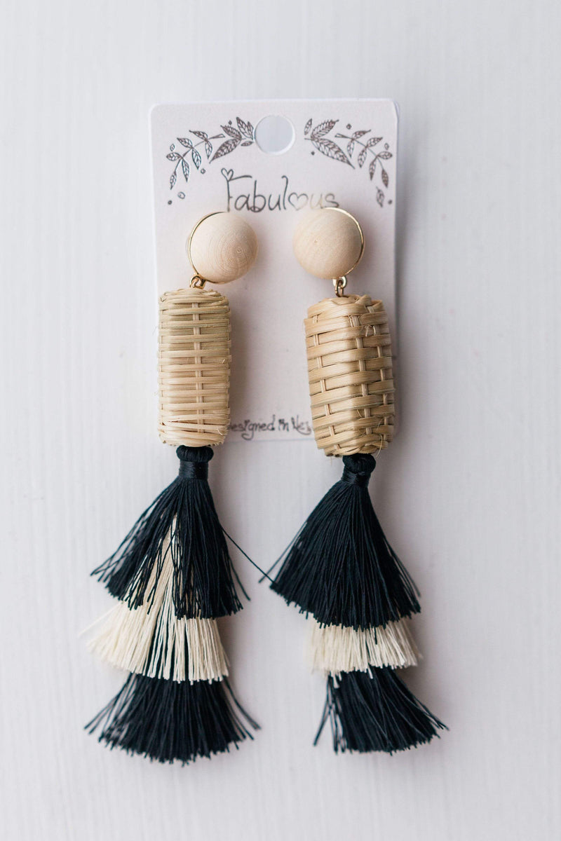 Accessories Backyard Earrings Black