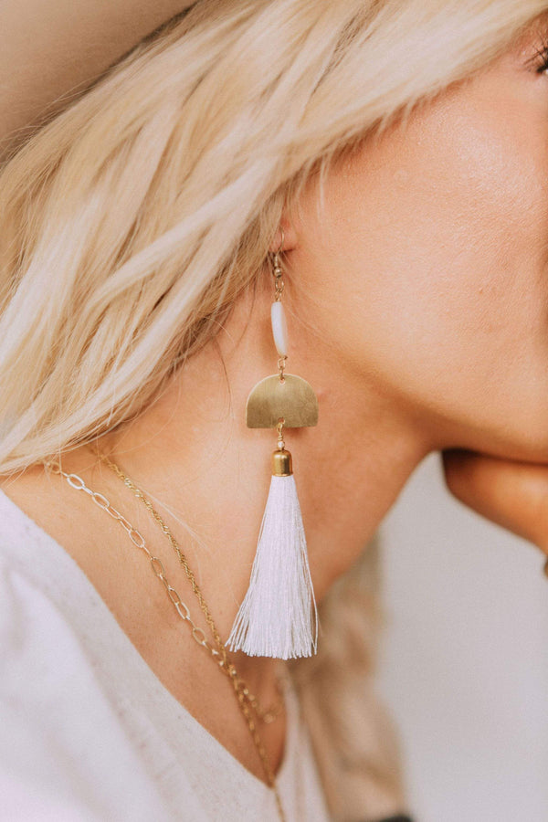 Accessories Cleopatra Tassel Earrings