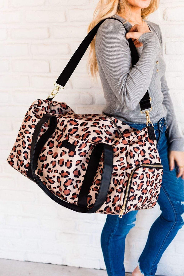 Accessories EXCLUSIVE! Leopard Weekender Bag