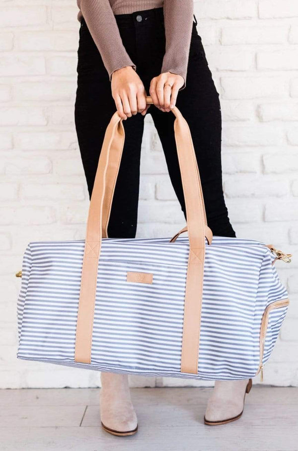 Accessories EXCLUSIVE! Striped Weekender Bag