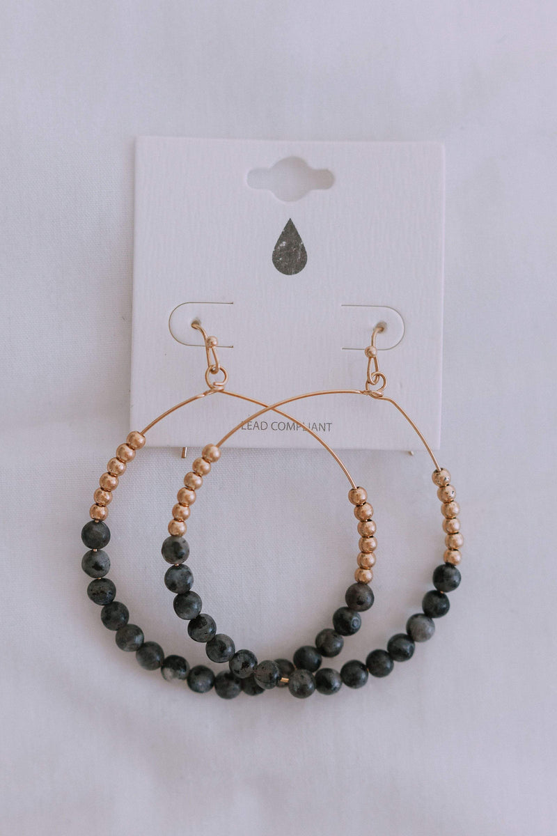 Accessories Farmers Market Earrings Black