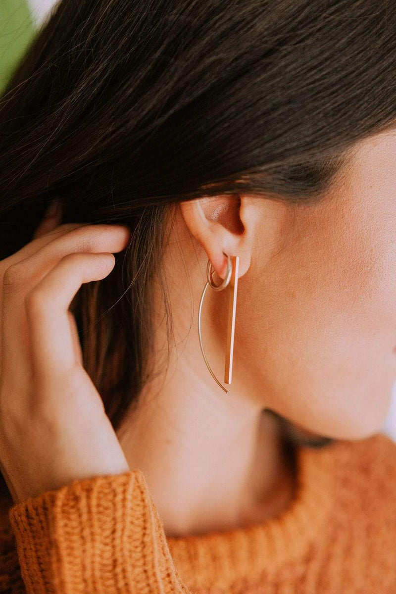 Accessories Feminist Earrings Gold