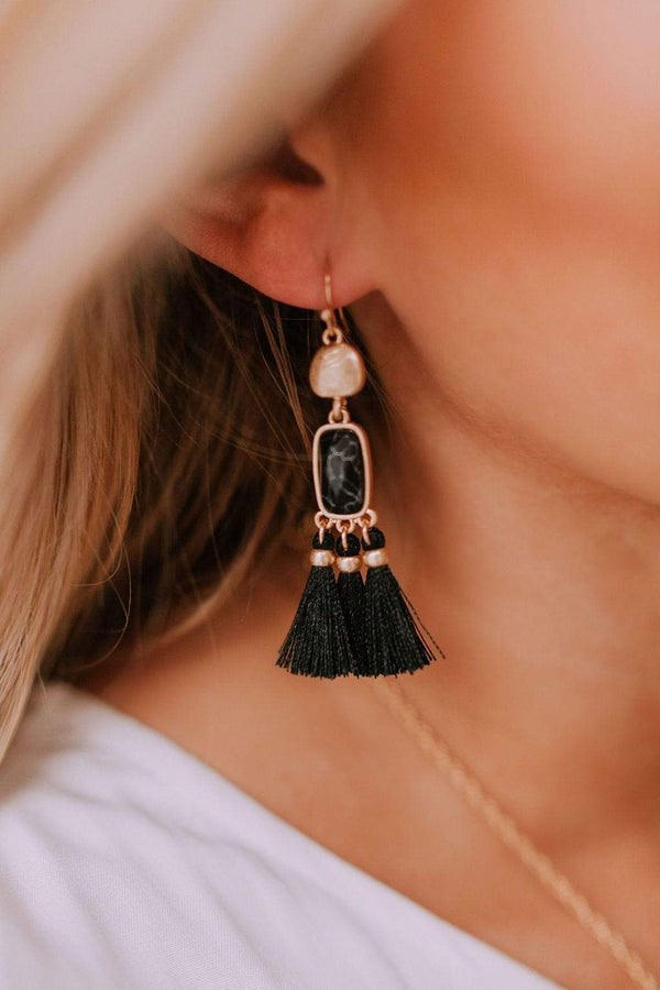 Accessories Getaway Earrings Black