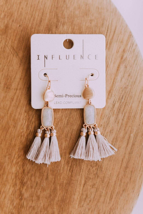 Accessories Getaway Earrings Grey