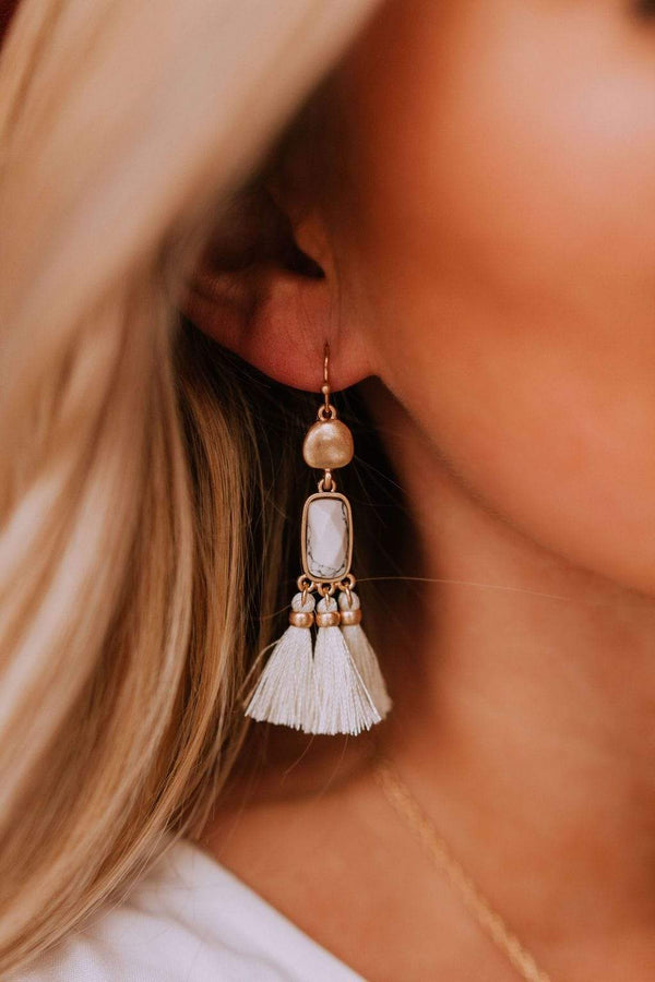 Accessories Getaway Earrings Ivory